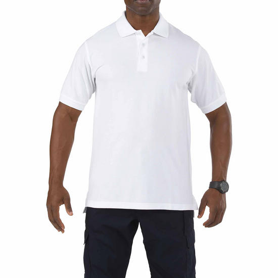 5.11 Professional Polo Short Sleeve White