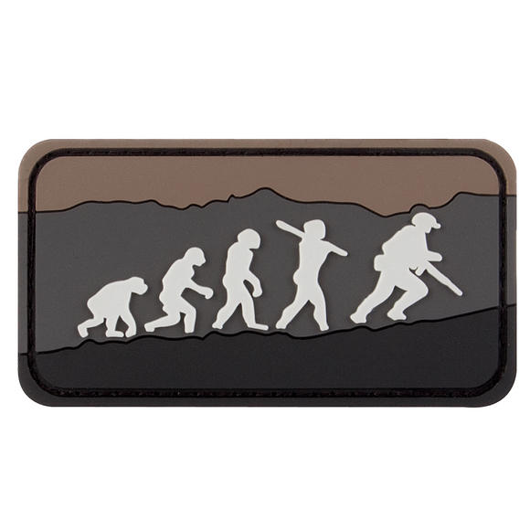 Military 1st Evolution Patch Brown