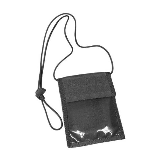 Flyye Neck ID Wallet Black