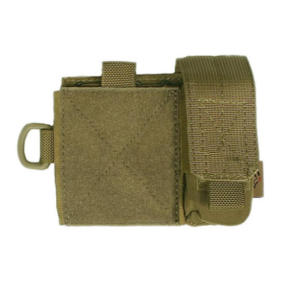 Flyye SAF Admin Panel MOLLE Coyote Brown