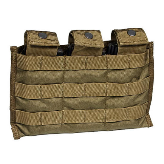 Flyye Triple M4/M16 Magazine Pouch ver. MI MOLLE Coyote Brown