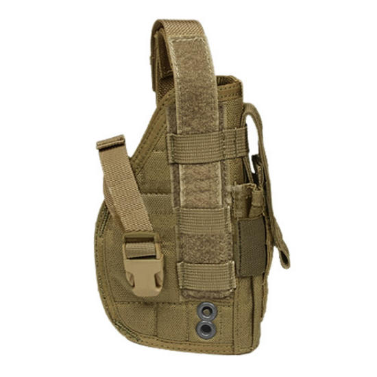 Flyye Right Handed Pistol Holster Coyote Brown