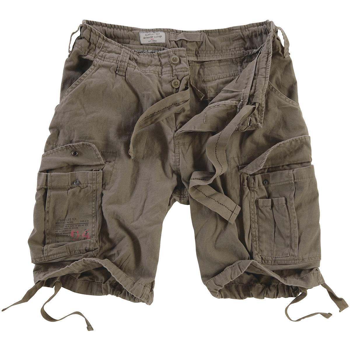 Surplus Mens Army Style Combat Airborne Vintage Cargo Cotton ...