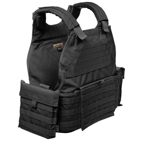 Flyye MOLLE SPC Armour Vest Black