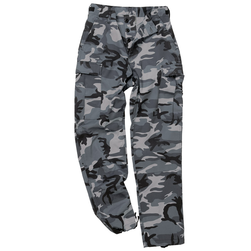 Army Tactical Trousers Cargo Mens Combats BDU Style Work Pants ...
