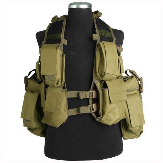 Mil-Tec South African Assault Vest Coyote