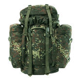 German Army Mountain Bergen 80L Flecktarn