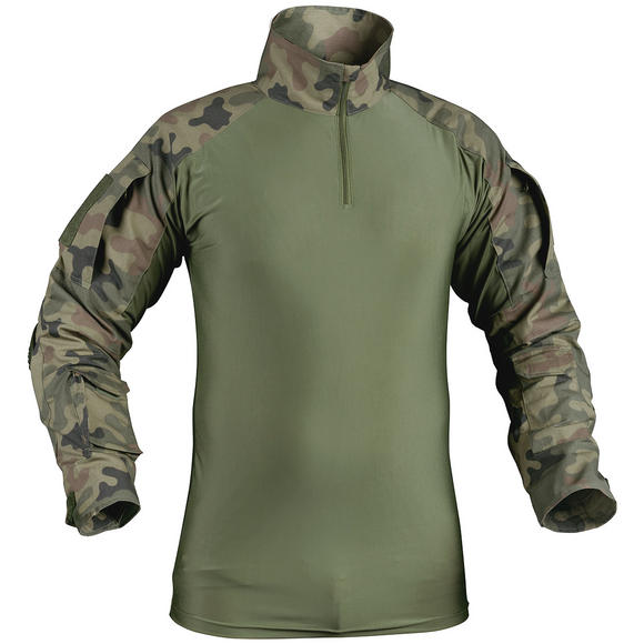 Helikon Combat Shirt with Elbow Pads Polish Woodland