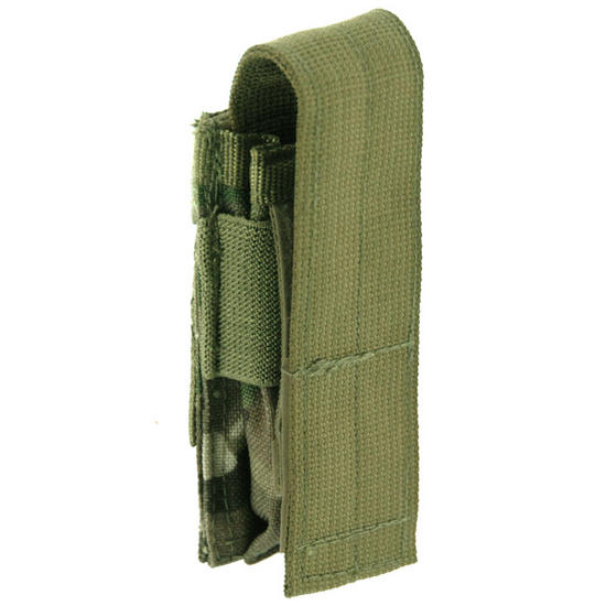 Pro-Force Single Pistol Magazine Pouch MOLLE MultiCam