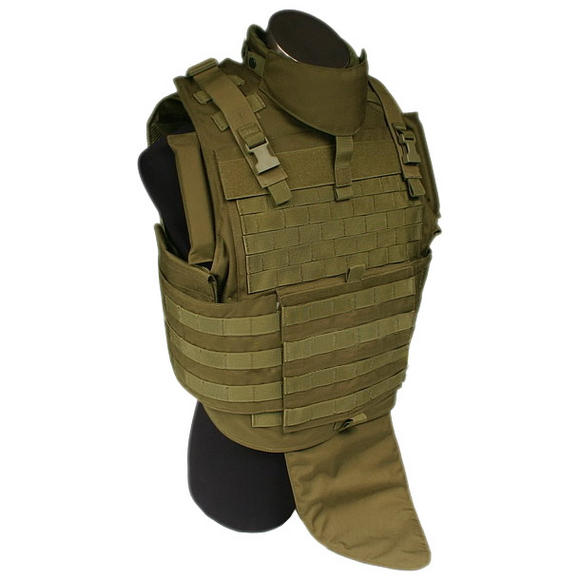 Flyye MOLLE MTV Vest Coyote Brown