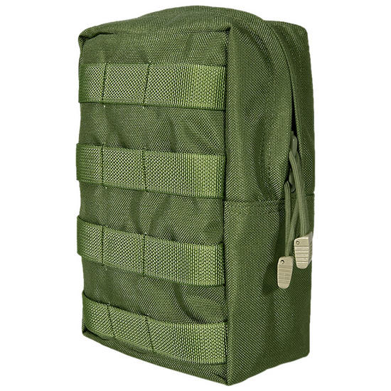 Flyye Vertical Accessories Pouch MOLLE Olive Drab