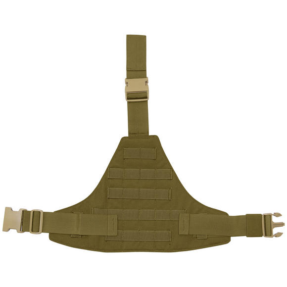 Flyye Triangular Leg Panel MOLLE Coyote Brown