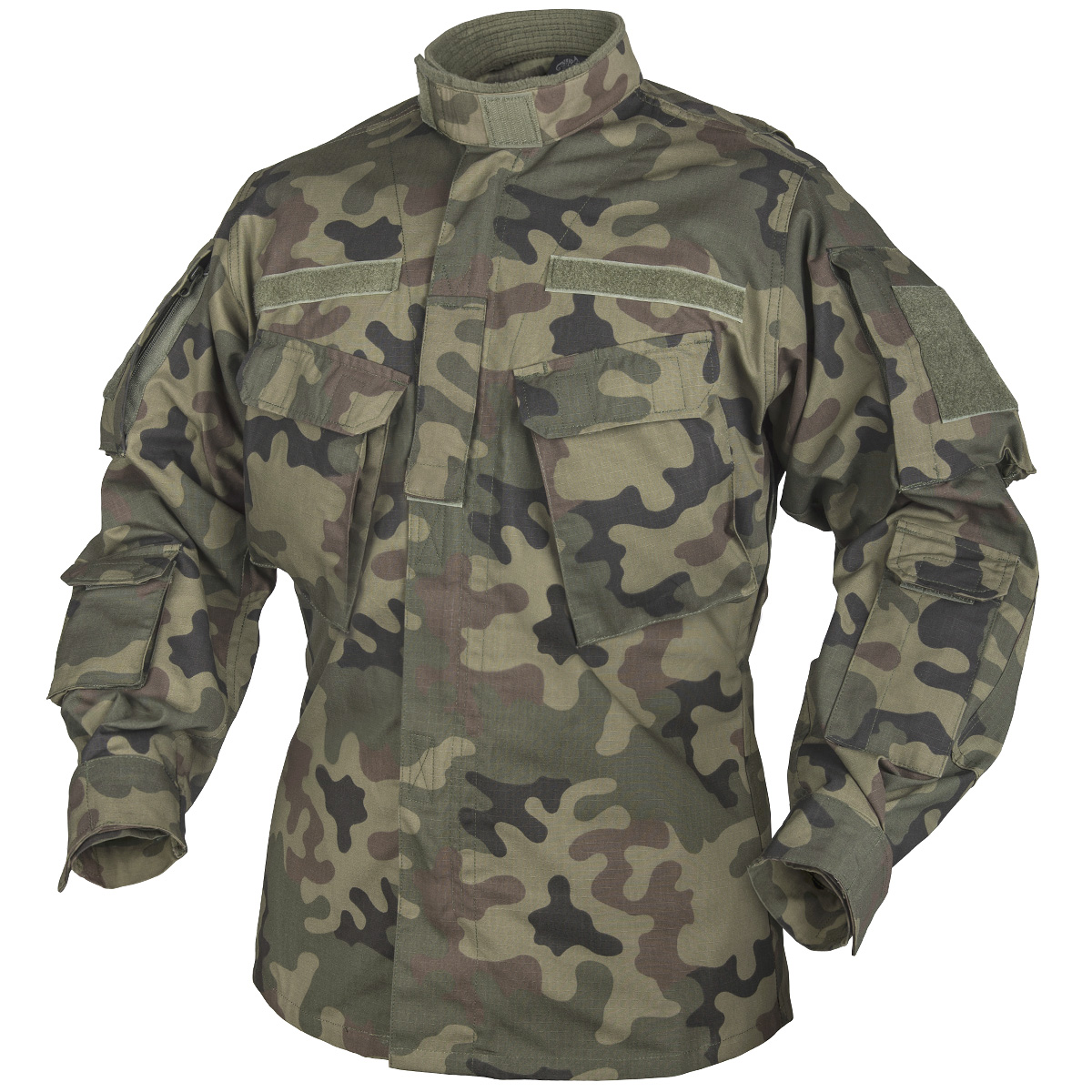 helikon army tactical jacket cpu combat mens shirt airsoft polish woodland camo ebay. Black Bedroom Furniture Sets. Home Design Ideas