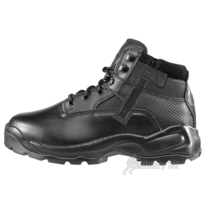 "5.11 PATROL COMBAT ATAC 6"" SIDE ZIP MENS TACTICAL BOOTS ..."