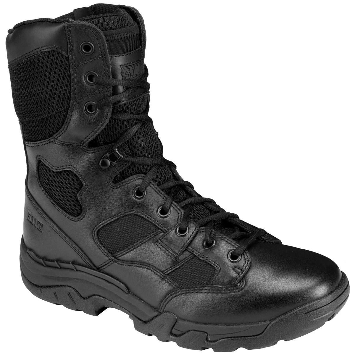 "5.11 Taclite 8"" Side Zip Mens Tactical Patrol Boots Police ..."