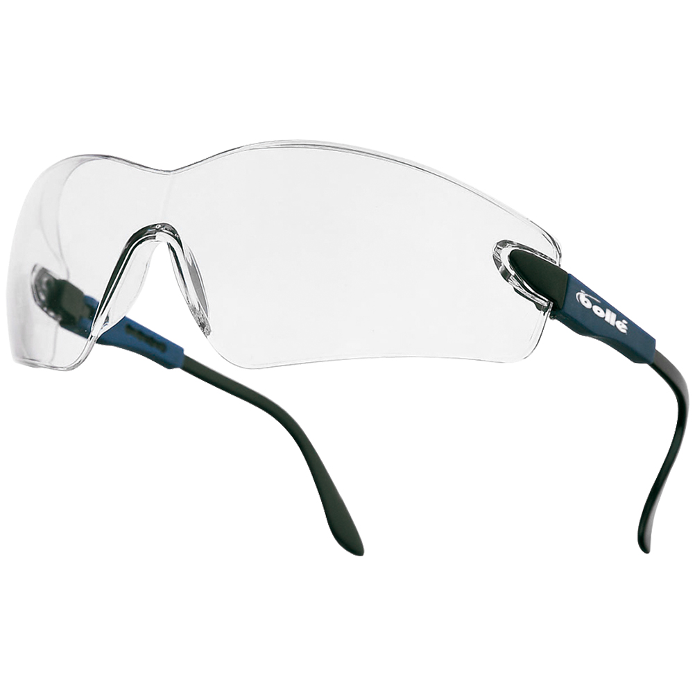 Bolle Viper II Glasses - Clear Lens / Electric Blue Frame ...
