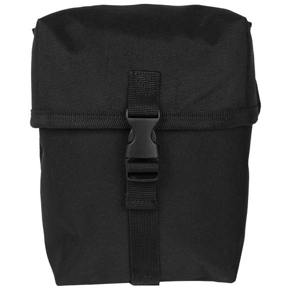 Mil-Tec Utility Pouch Medium MOLLE Black