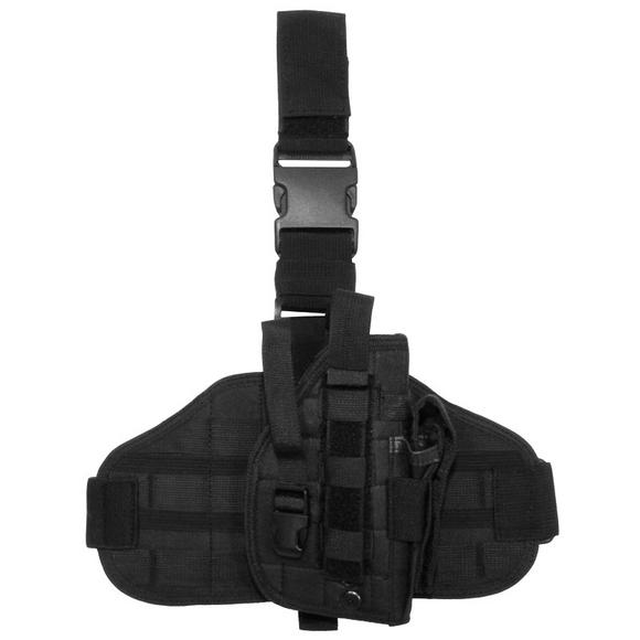 MFH Tactical Leg Holster MOLLE Black
