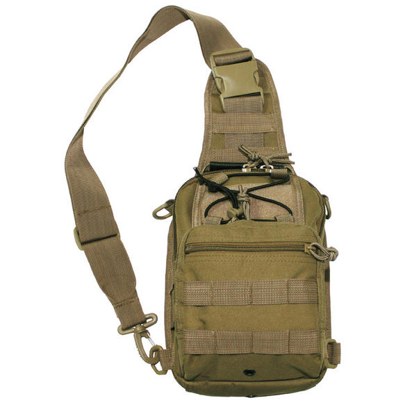 MFH Shoulder Bag MOLLE Coyote