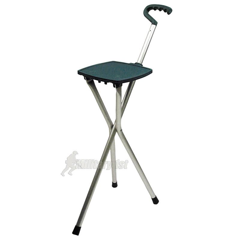 Highlander Easy Rest Seat Stick Stool Hiking Walking