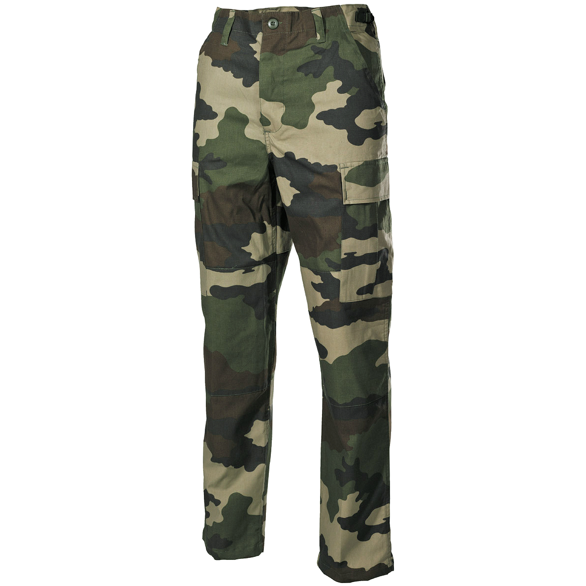 French Army Tactical BDU Trousers Mens Combat Cargo Work Pants ...