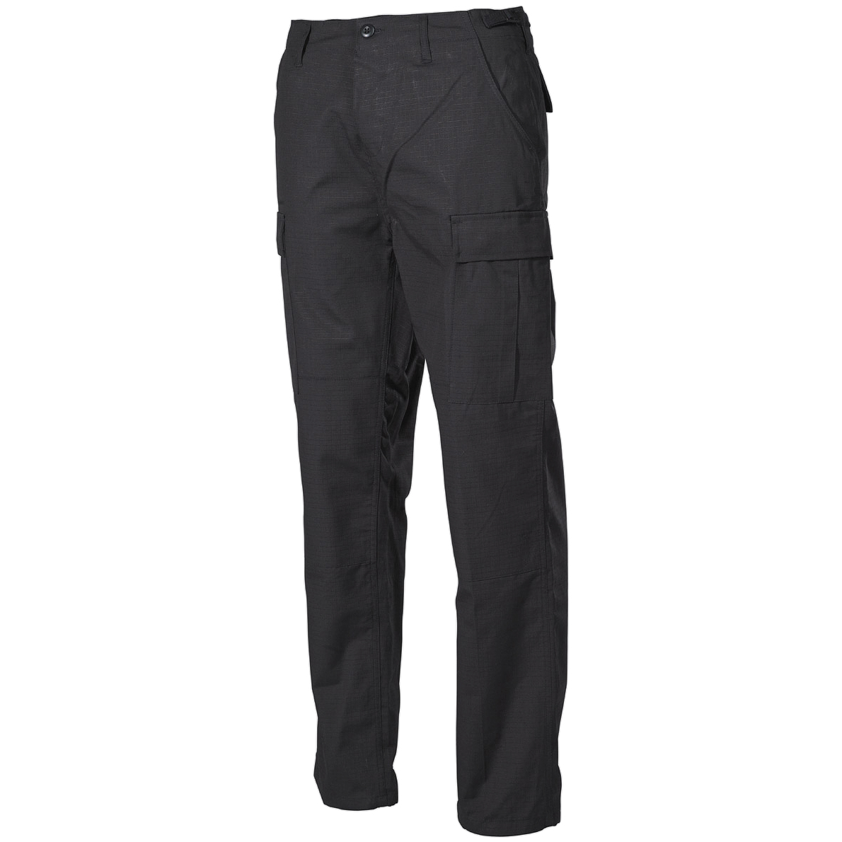 Cargo & Combat Trousers. Dickies cargo or combat trousers feature additional 'cargo' style pockets on either one or both of the outer legs. Combats take their name from their origins in the military; where they are typically loose cut pants designed for tough outdoor conditions.
