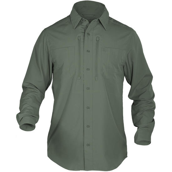5.11 Traverse Shirt Long Sleeve Sage Green