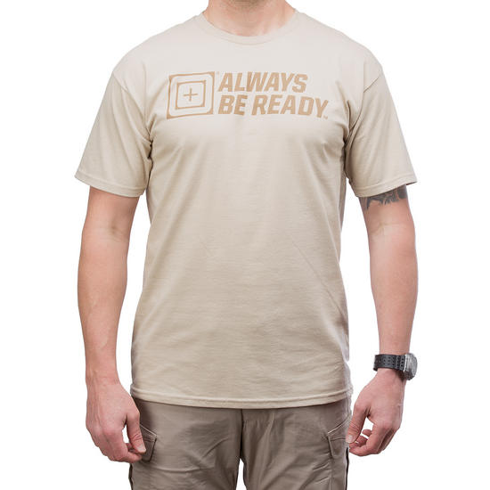 5.11 ABR 2.0 Logo T-Shirt Tan