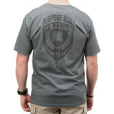 5.11 Purpose Built Logo T-Shirt Charcoal