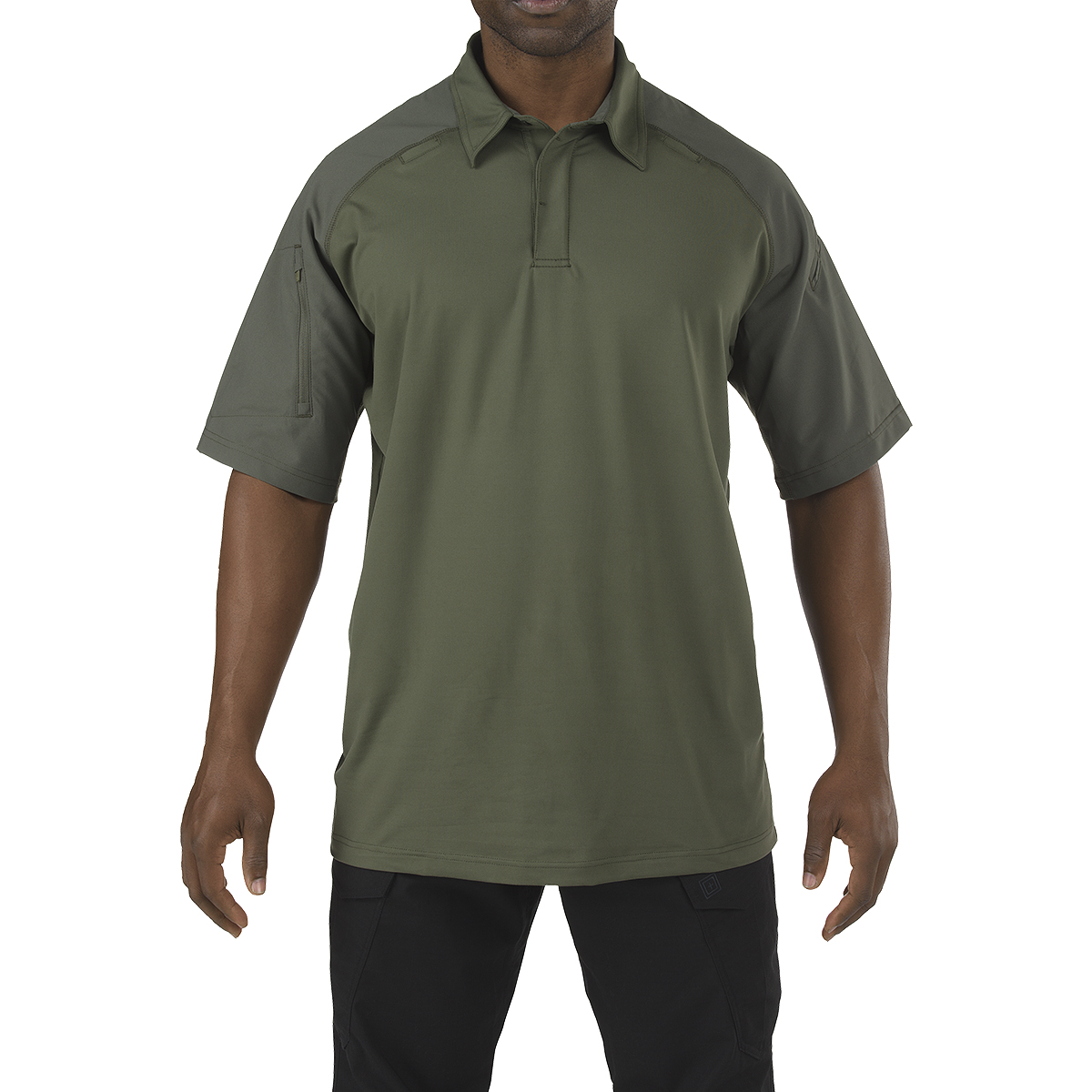 rapid performance polo short sleeve tdu green military 1st. Black Bedroom Furniture Sets. Home Design Ideas
