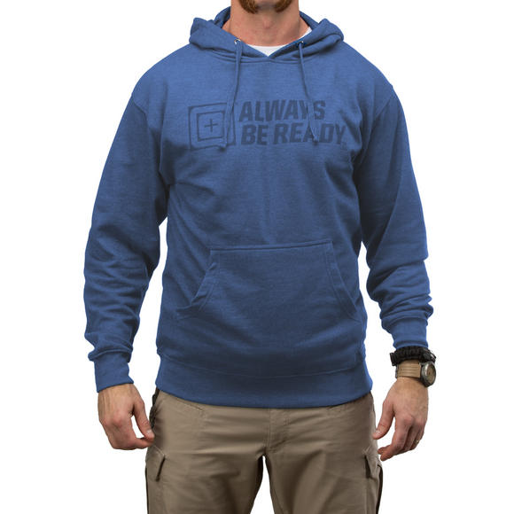 5.11 ABR Logo Hoodie Royal Heather
