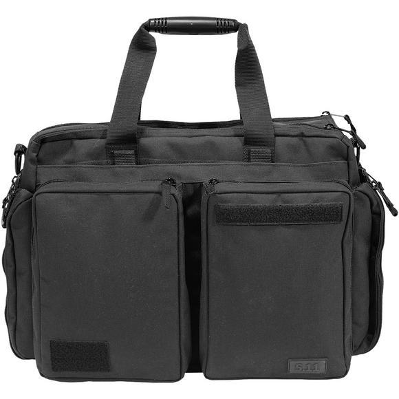 11 Side Trip Briefcase Black