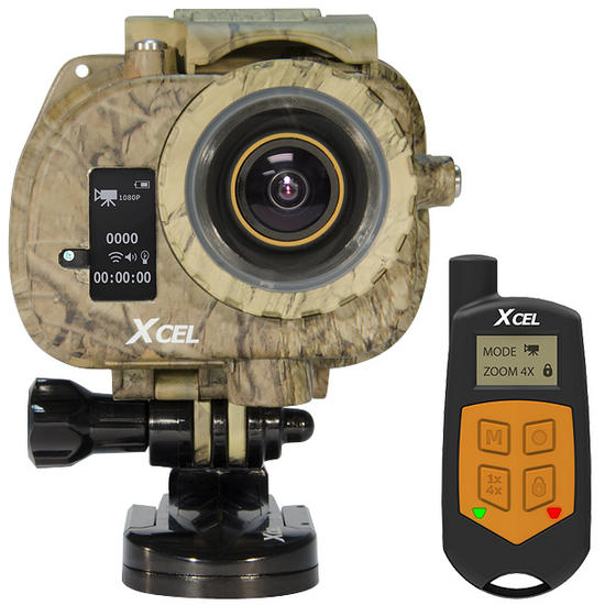 Xcel HD2 Hunting Edition Camera Black