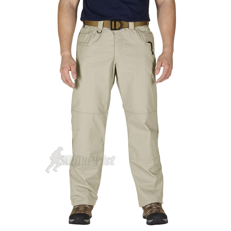 5.11 TACLITE JEAN-CUT MENS US TACTICAL TROUSERS CARGO COMBAT RIPSTOP PANTS KHAKI