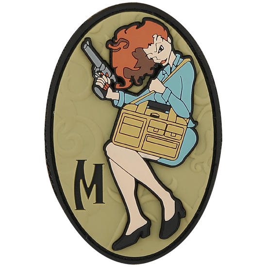 Maxpedition Concealed Carrie (Full Colour) Morale Patch