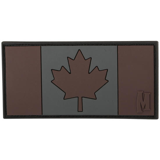 Maxpedition Canada Flag (Stealth) Morale Patch