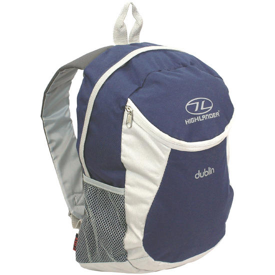 Highlander Dublin Backpack Navy Grey