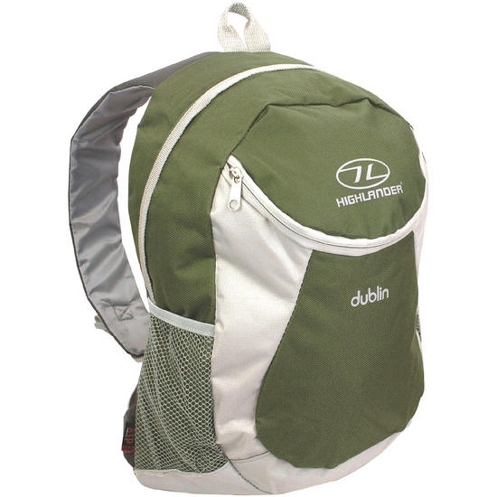 Highlander Dublin Backpack Olive Grey