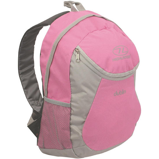 Highlander Dublin Backpack Pink Grey