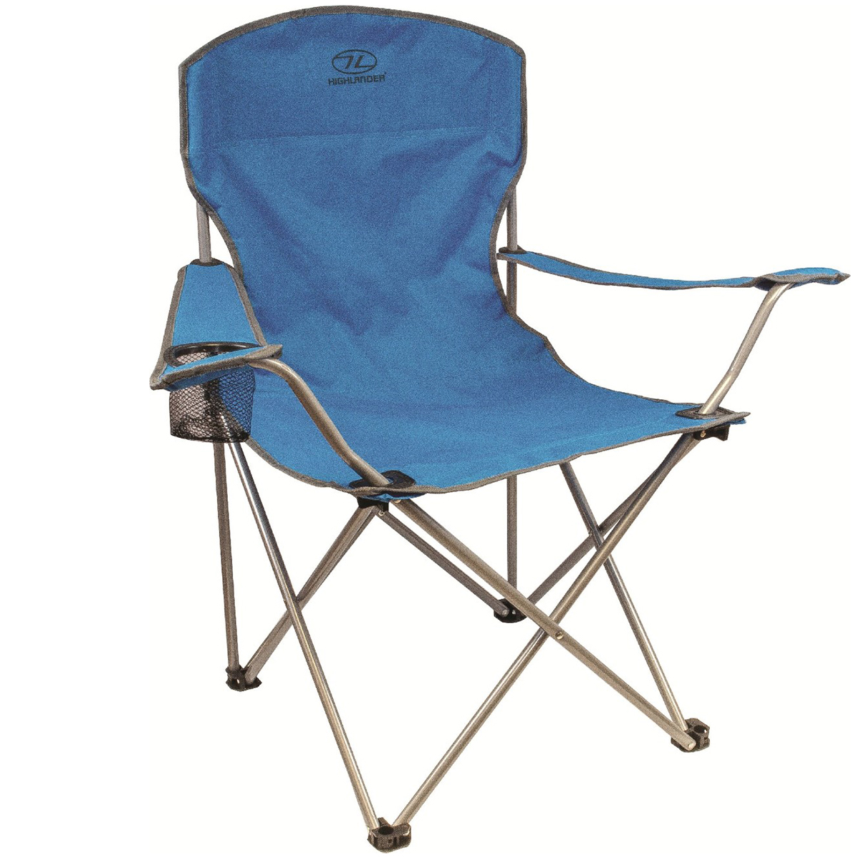 Highlander Folding Camp Chair Teal Camping Furniture
