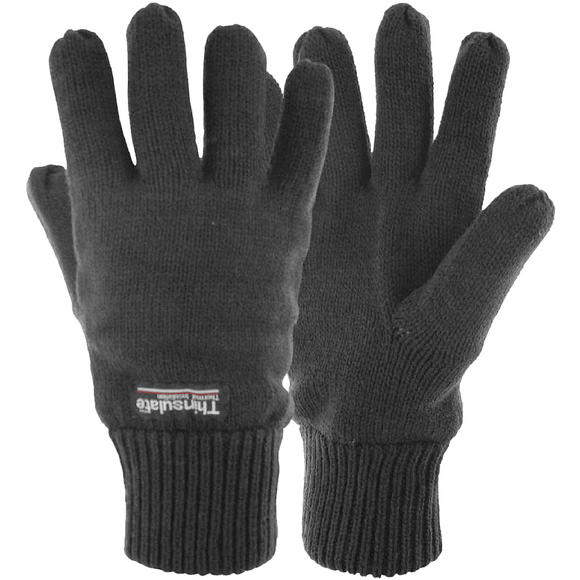 Highlander Drayton Thins Lined Gloves Black