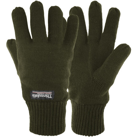 Highlander Drayton Thins Lined Gloves Olive
