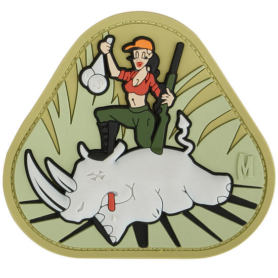 Maxpedition Safari Sheryl (Full Colour) Morale Patch
