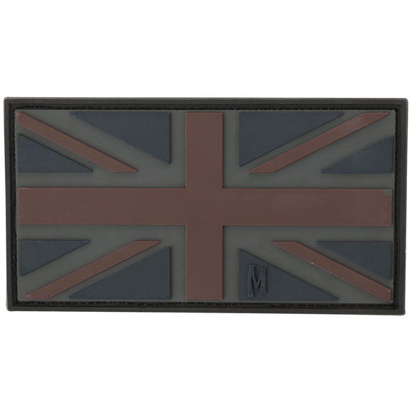 Maxpedition United Kingdom Flag (Stealth) Morale Patch