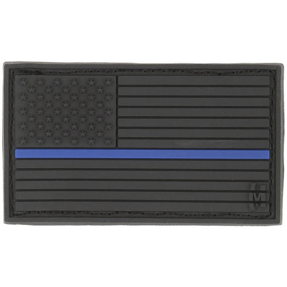 Maxpedition USA Flag Small (LE Thin Blue Line) Morale Patch