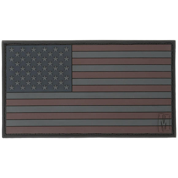 Maxpedition USA Flag Large (Stealth) Morale Patch