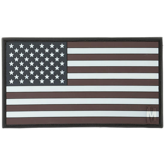 Maxpedition USA Flag Large (Glow) Morale Patch
