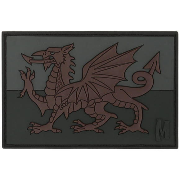 Maxpedition Welsh Flag (Stealth) Morale Patch