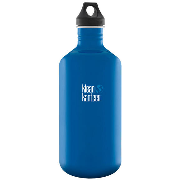 Klean Kanteen Classic 1900ml Bottle with Loop Cap Blue Planet