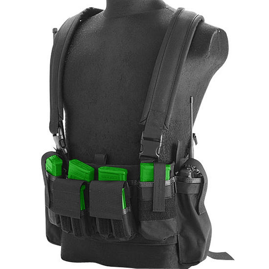 Flyye LBT M4 Tactical Chest Vest Black